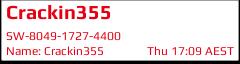 Crackin355